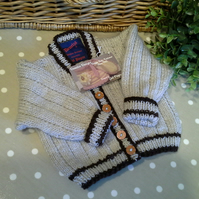 Baby Boy's Cardigan  9-18  months size