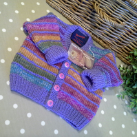 Baby Girl's Multicoloured Cardigan  9-18 months size