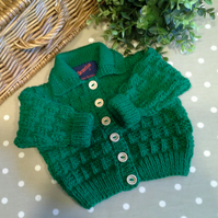 Baby Unisex Cardigan 3-9  months size