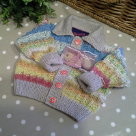Luxery Unisex Baby  Cardigan with Wool & Cotton  3-9 months size