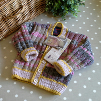 2  Baby Cardigans for Anne Ireland