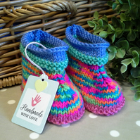 Baby Girl's Ankle High Booties 3-9 months size