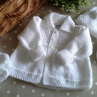 ORDER FOR GAIL White Baby Layette Set