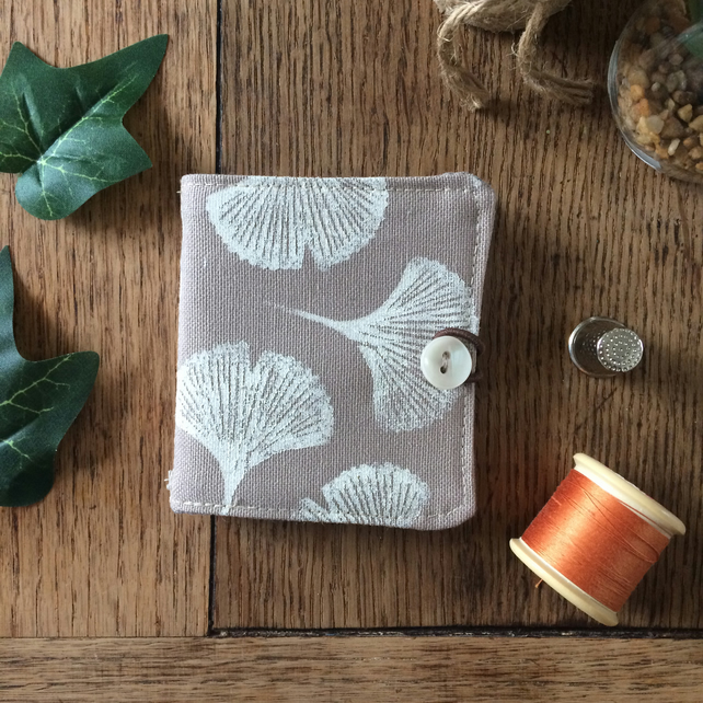Handmade needle case - sewing accessories