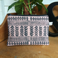Boho print makeup bag - handmade - accessories