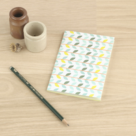 Woodland Small A6 Notebook Ruled Lines