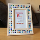 "Mosaic Photo Frame 6x4"" Rainbow Picture Frame"