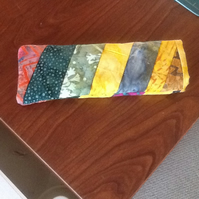 Batik strip glasses case
