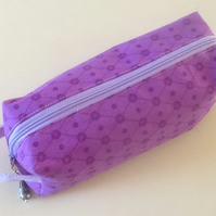Purple box pouch