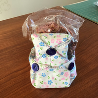 Pretty fabric bowl ,pot pourrri and matching tissue holder