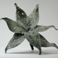 Silver Textile Flower Sculpture Mother's Day Gift