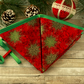 Christmas decoration, fabric bunting, handmade Christmas, festive decor