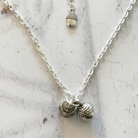 Acorn & Thimble Necklace