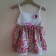 Custom baby sundress