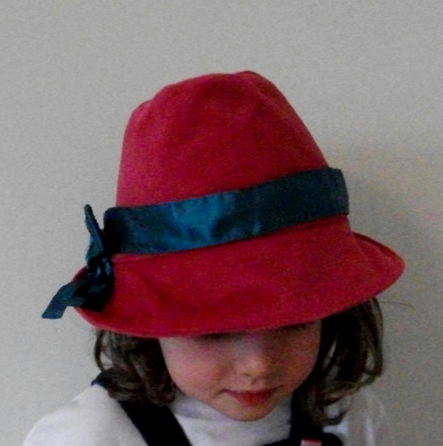 Kids unisex fedora hat, custom made