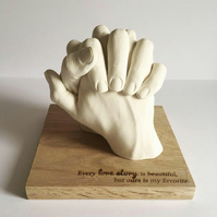 SRC - Couples Hand Casting Kit
