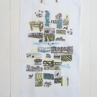Farm Yarns Linen Tea Towel