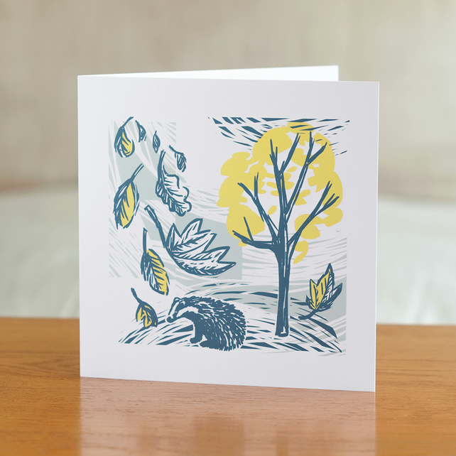 "Cover Story ""Wind"" design greetings card"