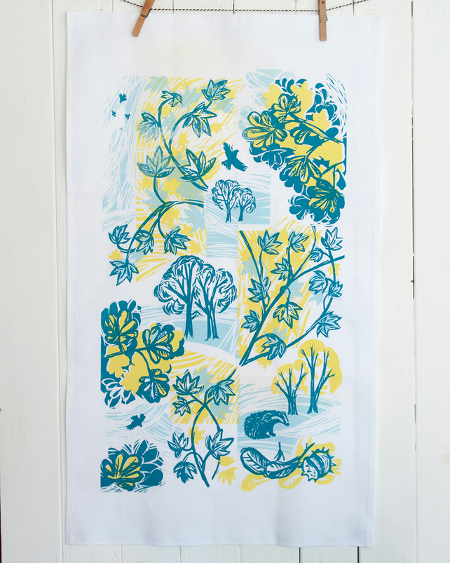 Cover Story Linen Tea Towel