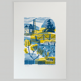 Tin Mine screen print limited edition