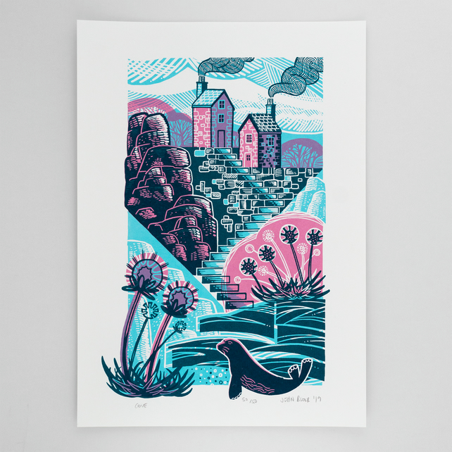 Cove screen print limited edition