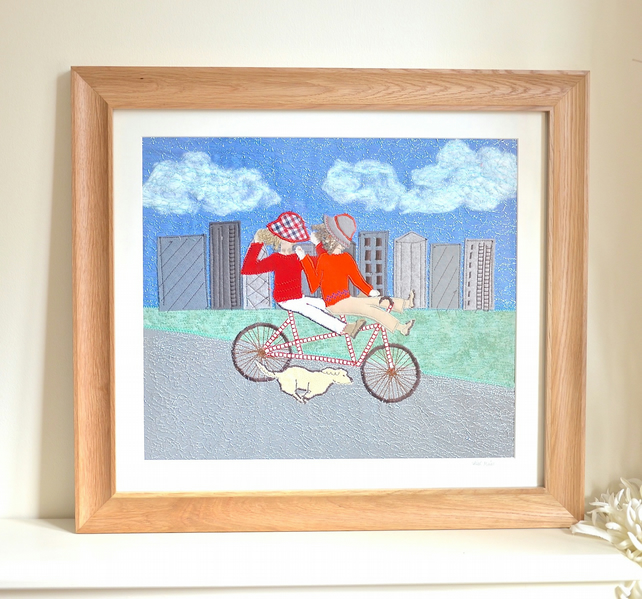 Tandem Fun! picture - NOW SOLD but Commissions welcome!