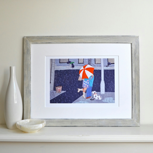 Romantic art gift - At A Junction picture