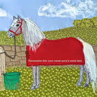 Personalised pony print