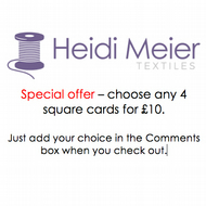Special offer - any 4 cards for 10 pounds
