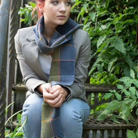 Military Inspired Lambswool Scarf