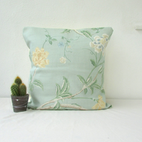 CLEARANCE Vintage style green cushion cover