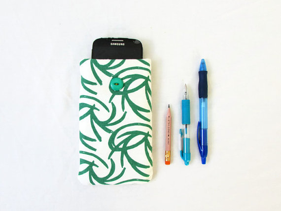 Green phone case, Iphone 6, 7 or 8, Samsung galaxy S7 or S8