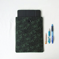 Ipad tablet case, camo rose fabric