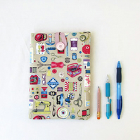 IPad mini case, beige craft fabric