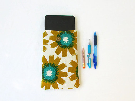 Fabric kindle case, 7 inch tablet sleeve