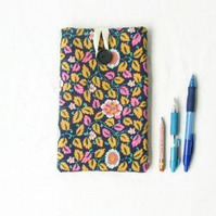 7 inch floral fabric tablet case
