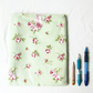 Green floral IPad case