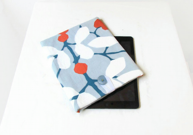 Fabric tablet case - for 10 inch tablets, IPad, Kindle DX, Samsung Galaxy S6