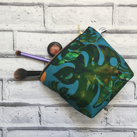 Tropical Waterproof Make Up Bag