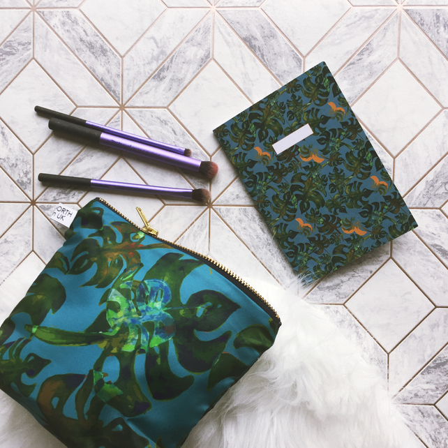 Handmade gift Lucky Dip! Silk scarf, clutch, makeup bag or more