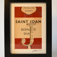 Saint Joan - Penguin Book Carving (Bernard Shaw)