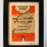 Sunshine Sketches of a Little Town - Penguin Book Carving (Stephen Leacock)