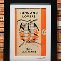 Sons and Lovers - Penguin Book Carving (D H Lawrence)