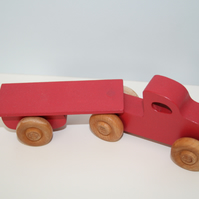 Handmade single car transporter