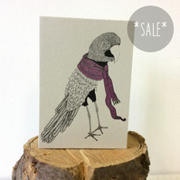 SALE! Mimsy Borogrove - Creatures from the Jabberwocky - Screen Printed Card