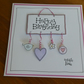 Hanging Sign Birthday Card