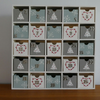Handpainted Advent Calendar