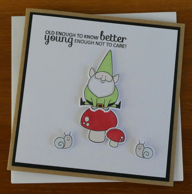 Leap Frog Birthday Card
