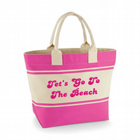 LETS GO TO THE BEACH ...BEACH BAG
