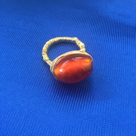 Indian Summers Wire Wrapped Ring (small)